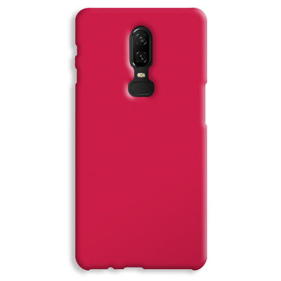 Shade of Pink OnePlus 6 Case