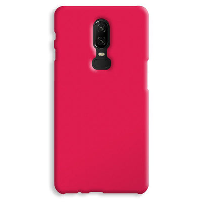 Hot Pink OnePlus 6 Case