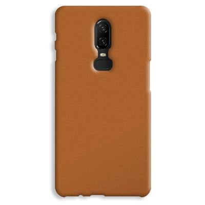 Light Brown OnePlus 6 Case
