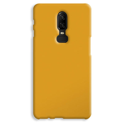 Yellow Ochre OnePlus 6 Case