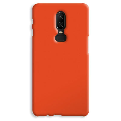 Orange OnePlus 6 Case
