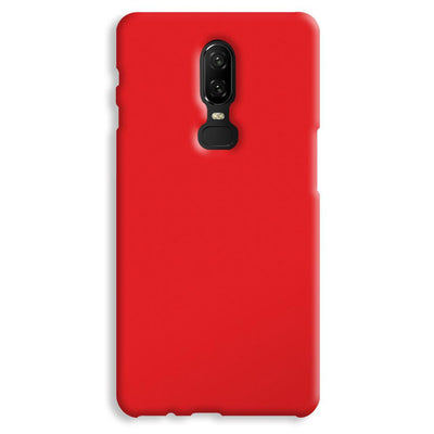 Red OnePlus 6 Case