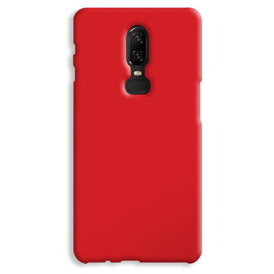 Light Red OnePlus 6 Case