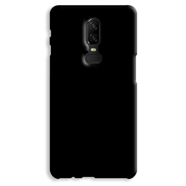 Black OnePlus 6 Case