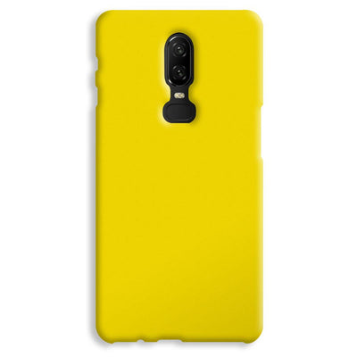 Yellow Shade OnePlus 6 Case