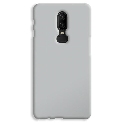 Light Grey OnePlus 6 Case