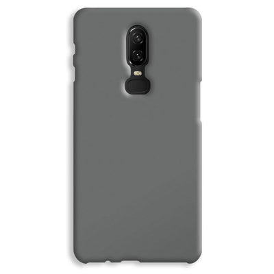 Medium Grey OnePlus 6 Case