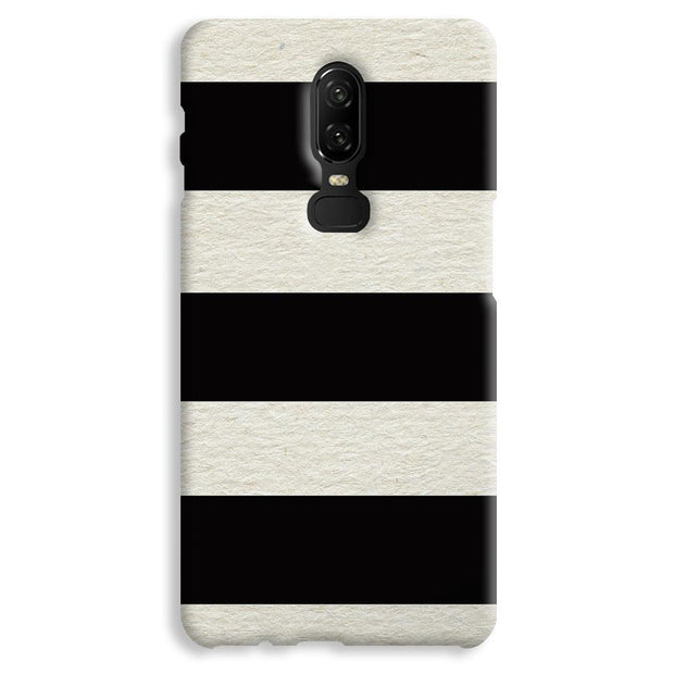 Black & White  OnePlus 6 Case