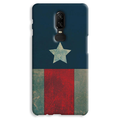 Captain America OnePlus 6 Case