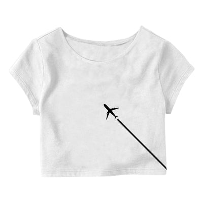 Aeroplane Crop Top