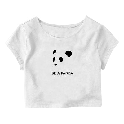 Be a Panda Crop Top