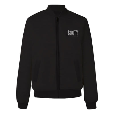 Booty With Brain Bomber Jacket
