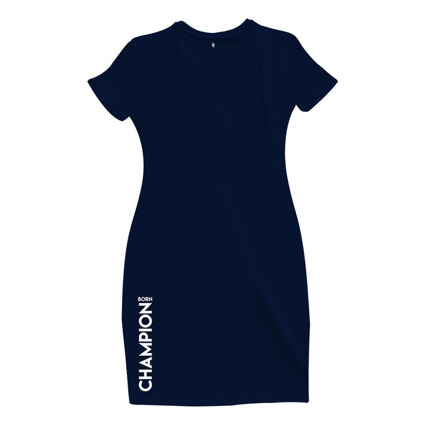 Born Champion T-Shirt Dress