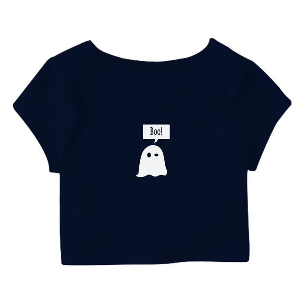 Boo Crop Top