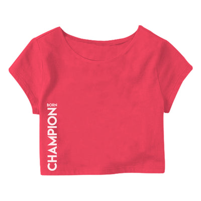 Born Champion Crop Top
