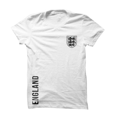 England (Black) T-Shirt