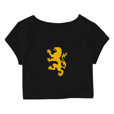 Lannister Crop Top