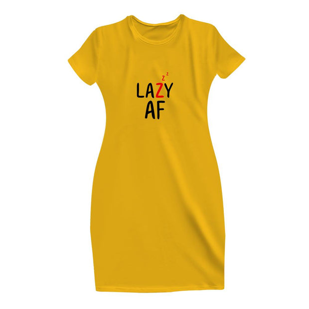 Being Lazy T-Shirt Dress