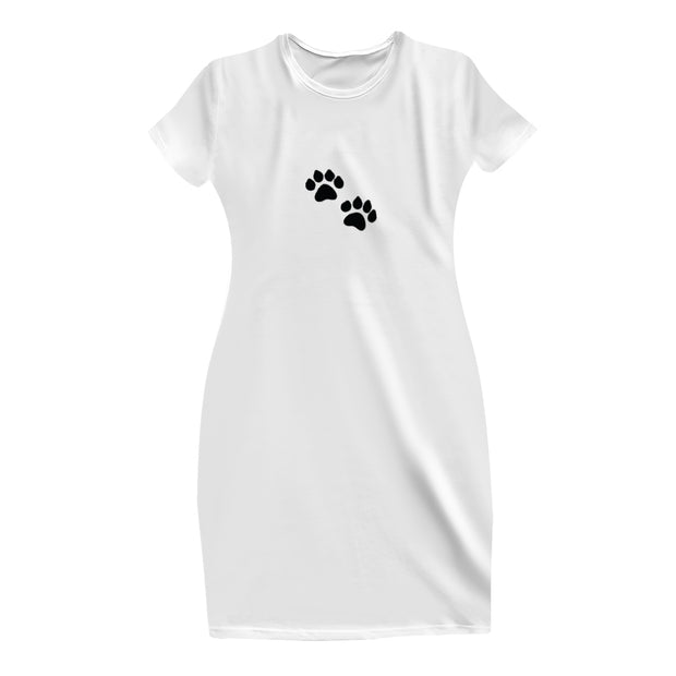 Paws T-Shirt Dress