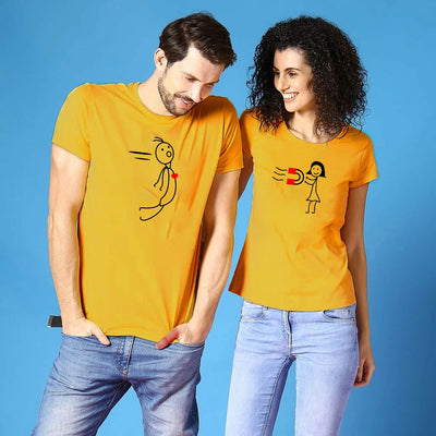 Attraction Couple Tee