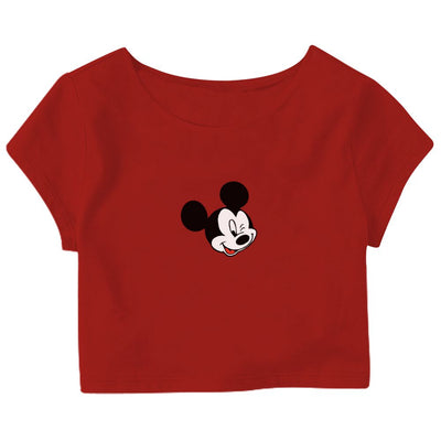 Mickey Mouse Crop Top