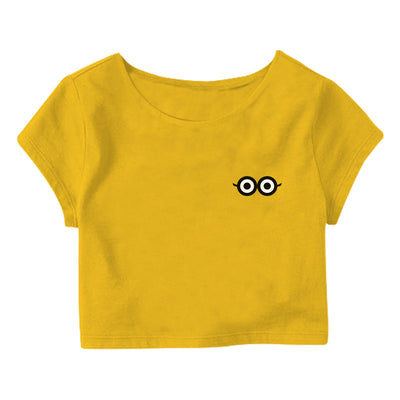 Minion Eye Crop Top