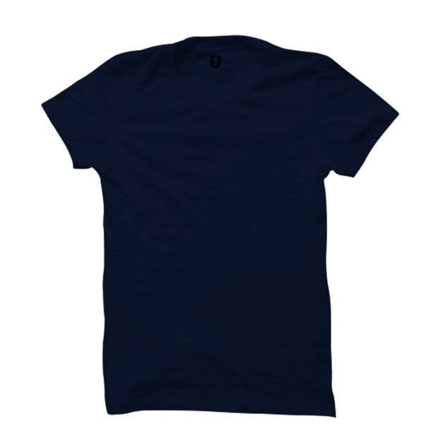 Plain Navy Blue T-Shirt
