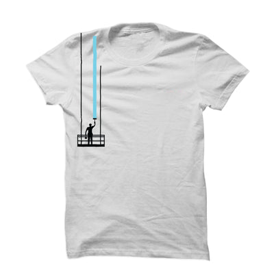 Light Blue Paint Stroke T-Shirt