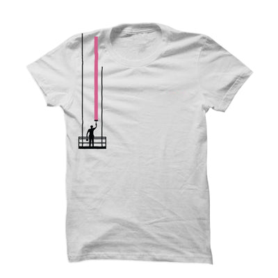 Pink Paint Stroke T-Shirt