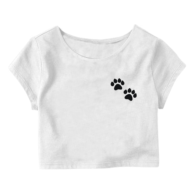 Paws Crop Top