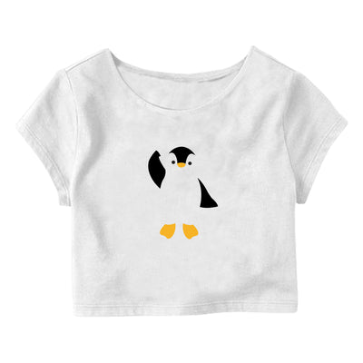 Penguin Crop Top