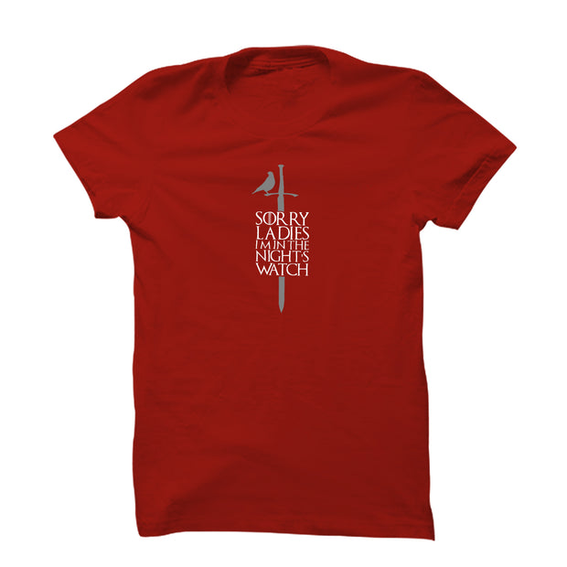 GOT: Sorry Ladies T-Shirt