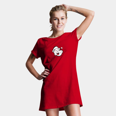 Popeye T-Shirt Dress