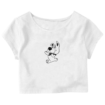 Baby Scooby-Doo Crop Top