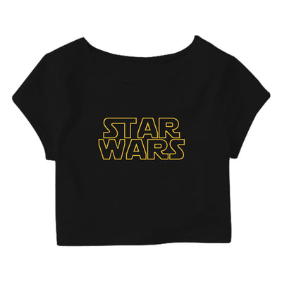 Star-Wars Crop Top