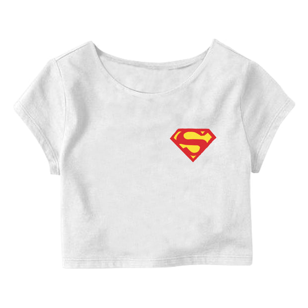 Superman Crop Top
