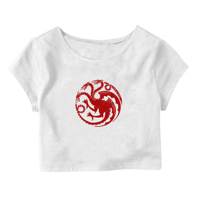 Targaryen Crop Top