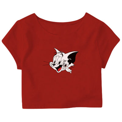 Tom & Jerry Crop Top