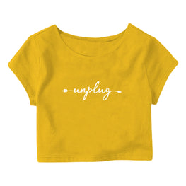 Unplug Crop Top