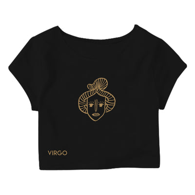 Virgo Crop Top