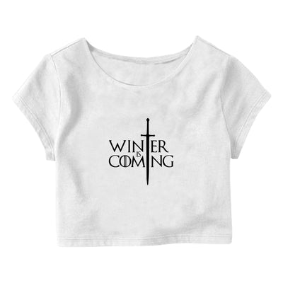 WInter is Coming Crop Top
