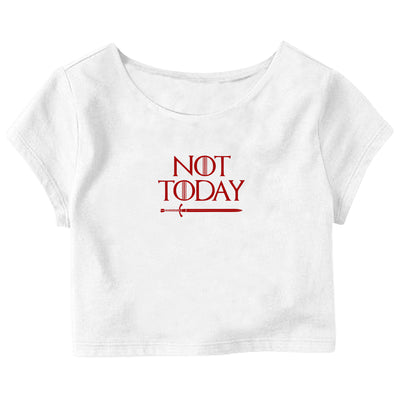 GOT: Not Today Crop Top