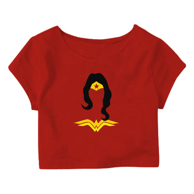 Wonder women Crop Top