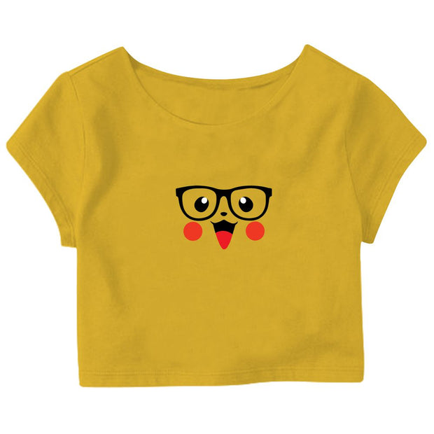 Cute Pika Crop Top