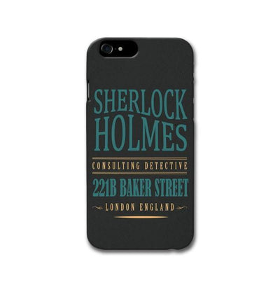 Sherlock Holmes Quote Apple iPhone 8 Case