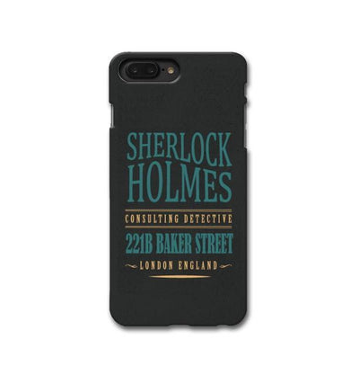 Sherlock Holmes Quote Apple iPhone 8 Plus Case