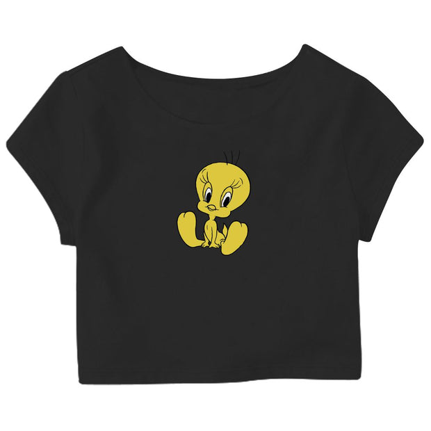 Tweety Crop Top