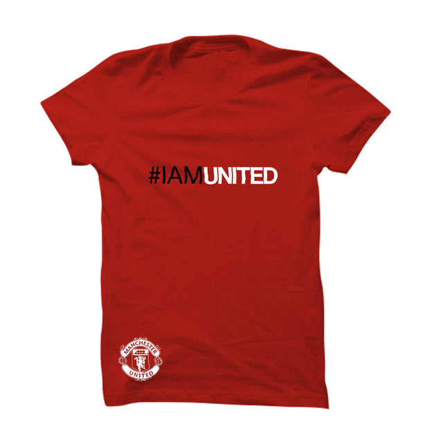 I am United with Logo T-Shirt