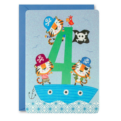 HC2399 - Boy Age 4 Tiger Card
