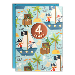 HC3143 - Age 4 Pirates Card